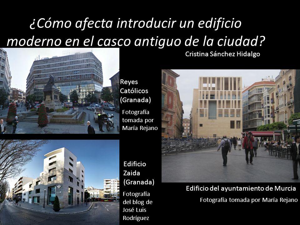 ¿Cómo afecta introducir un edificio moderno en el casco antiguo de la ciudad