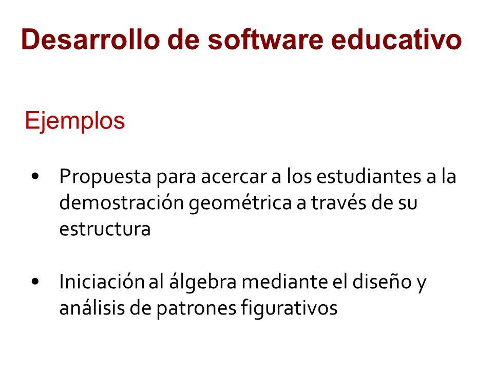 Desarrollo de software educativo