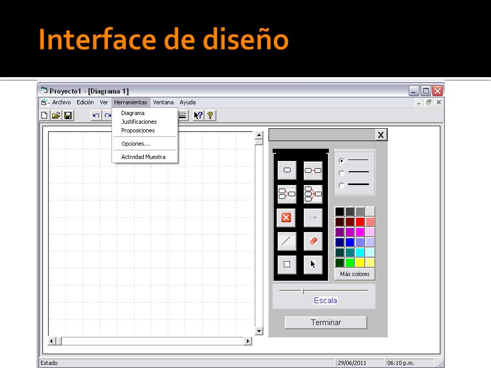 Interface de diseño