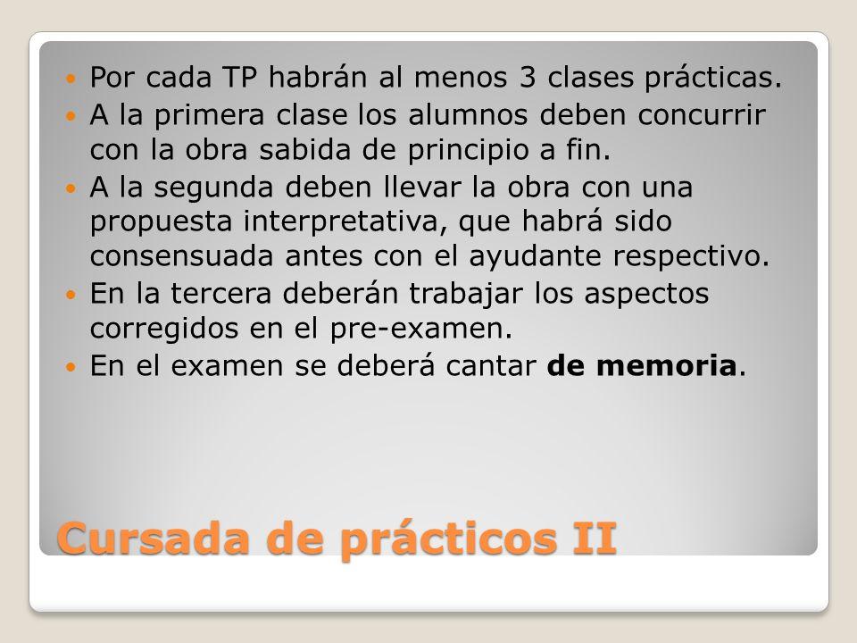 Cursada de prácticos II
