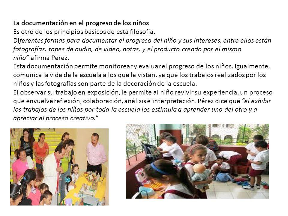 La documentación en el progreso de los niños