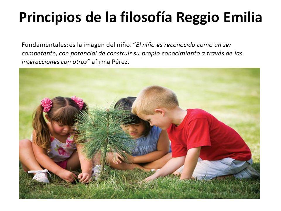 Principios de la filosofía Reggio Emilia