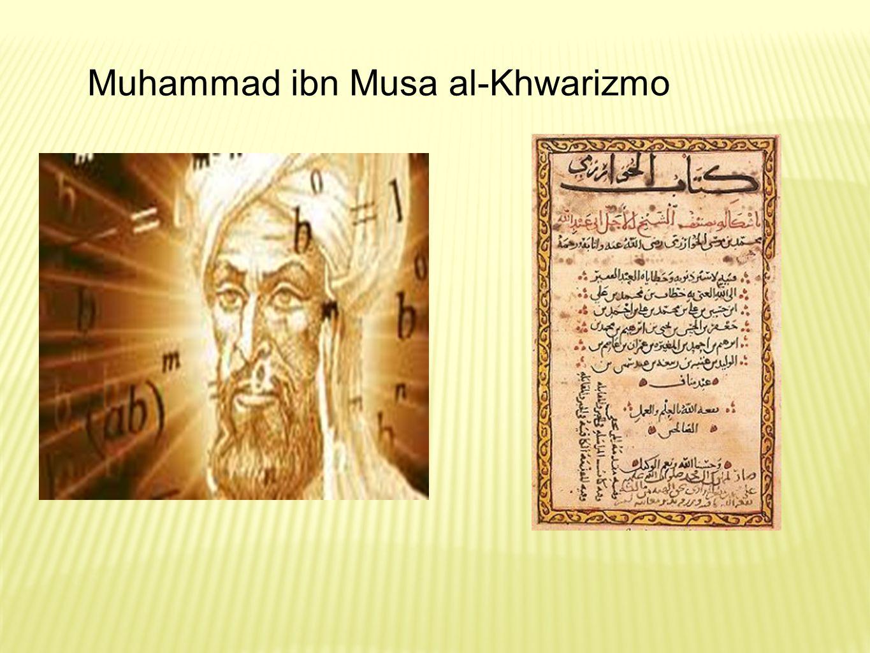 Muhammad ibn Musa al-Khwarizmo