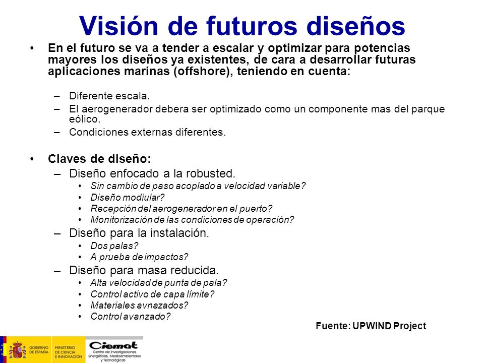 Visión de futuros diseños