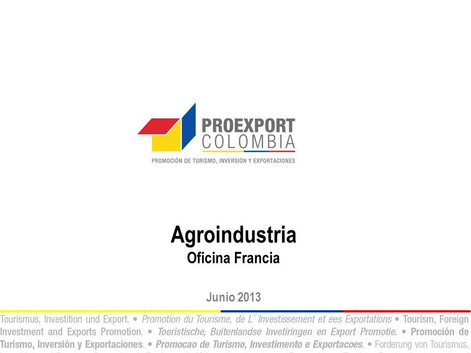 Agroindustria Oficina Francia Junio 2013