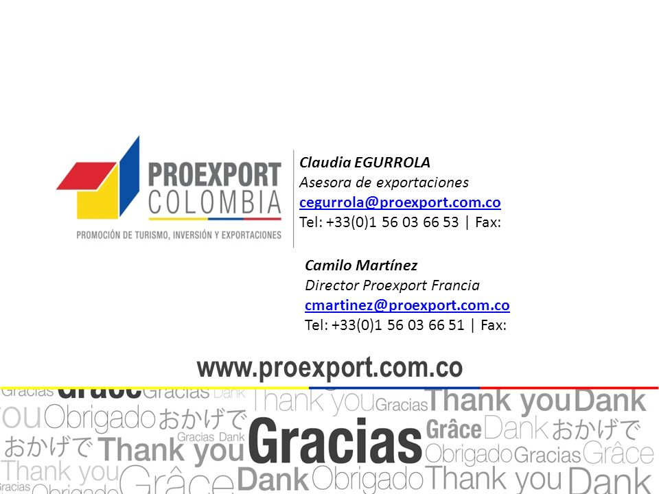 www.proexport.com.co www.proexport.com.co Claudia EGURROLA