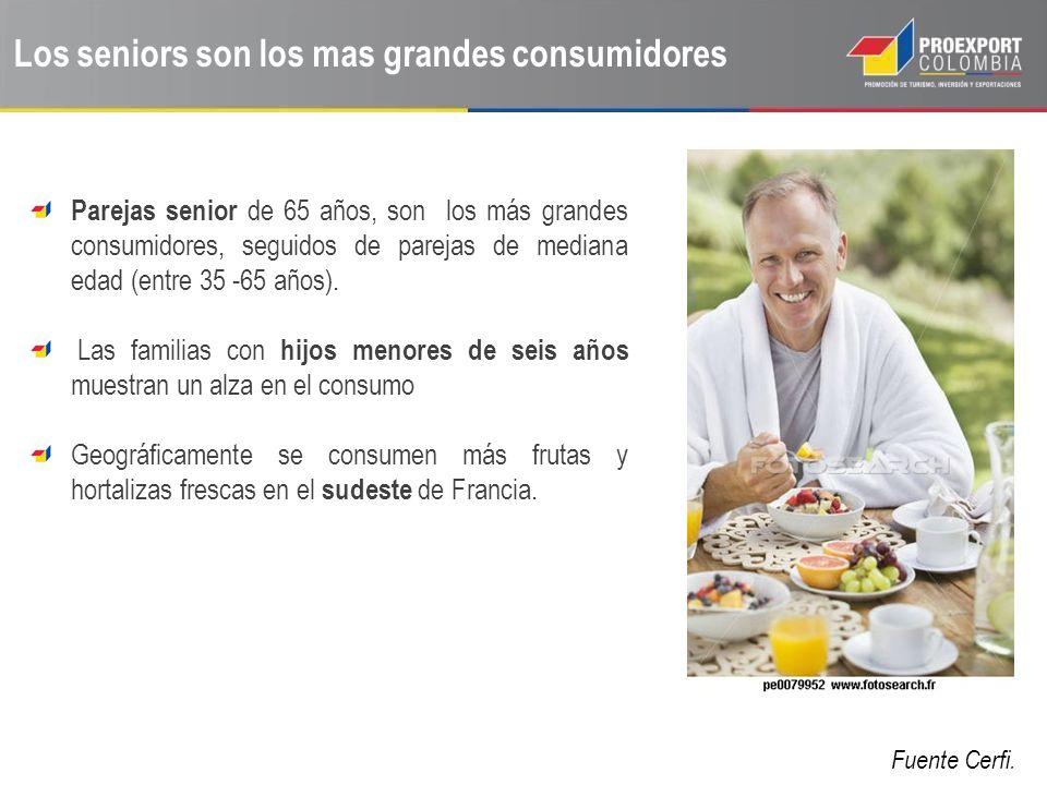 Los seniors son los mas grandes consumidores