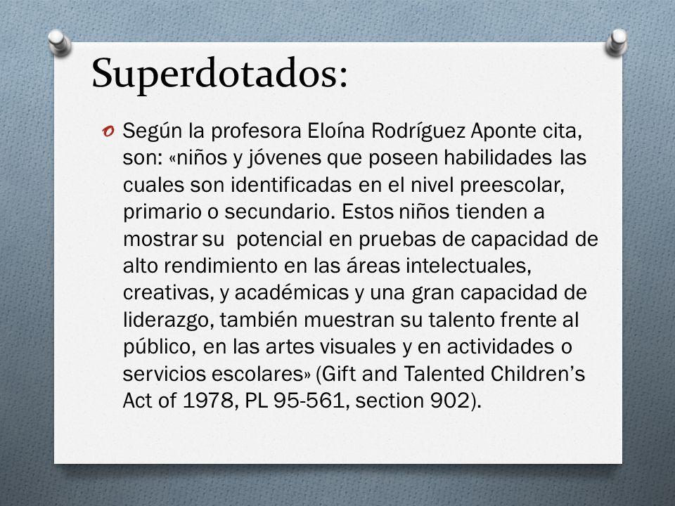 Superdotados: