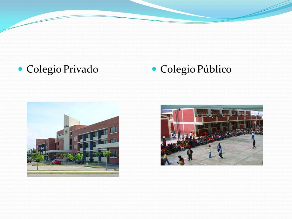Colegio Privado Colegio Público
