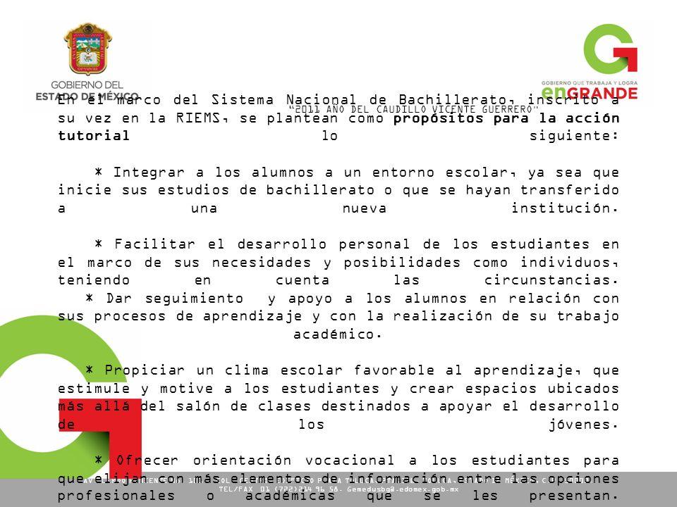 TEL/FAX 01 (722)214 96 58. Gemedusbg@.edomex.gob.mx