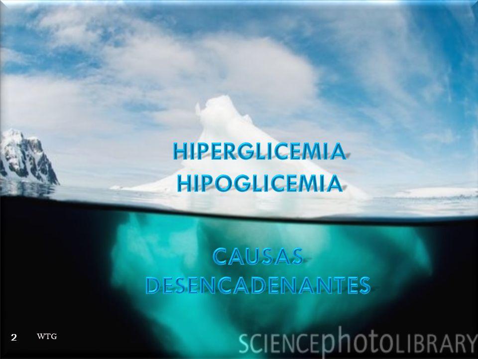 HIPERGLICEMIA HIPOGLICEMIA