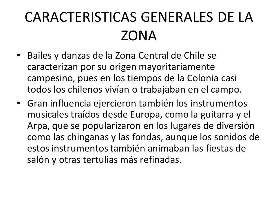 CARACTERISTICAS GENERALES DE LA ZONA