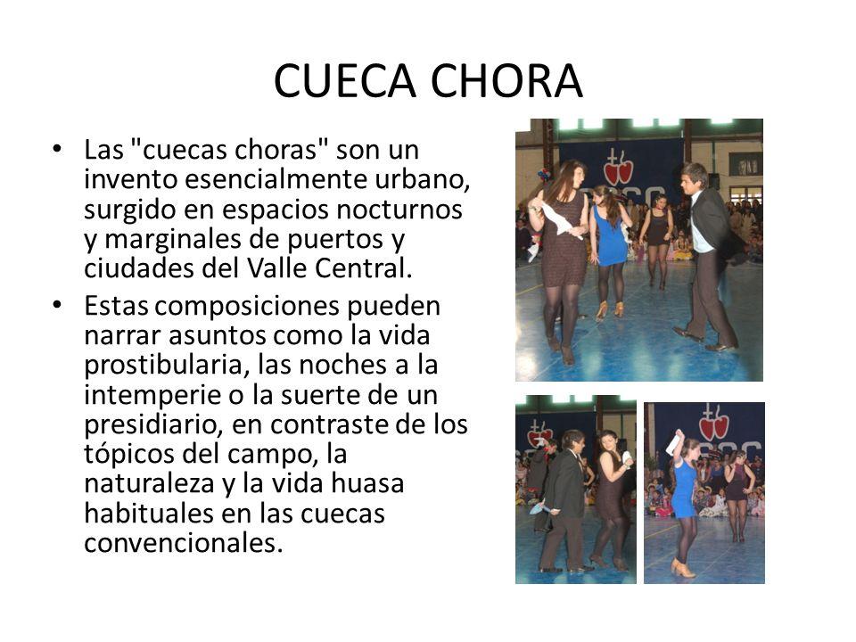CUECA CHORA