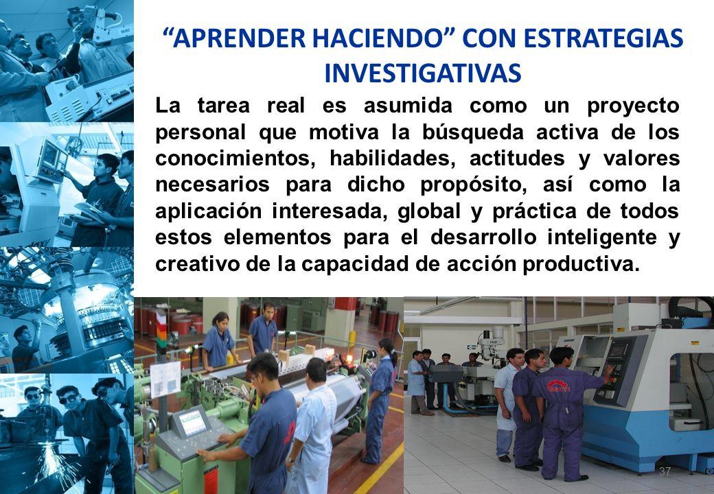 APRENDER HACIENDO CON ESTRATEGIAS INVESTIGATIVAS