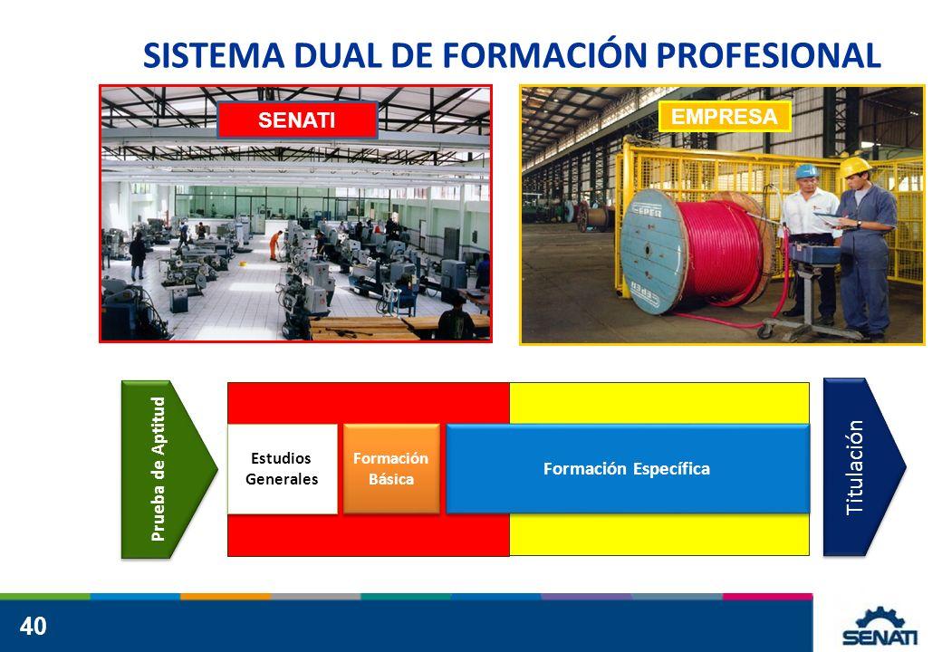 SISTEMA DUAL DE FORMACIÓN PROFESIONAL