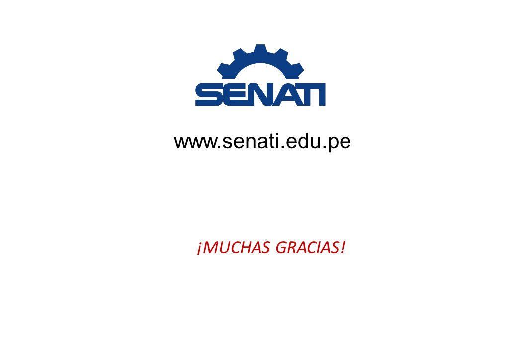 www.senati.edu.pe ¡MUCHAS GRACIAS!