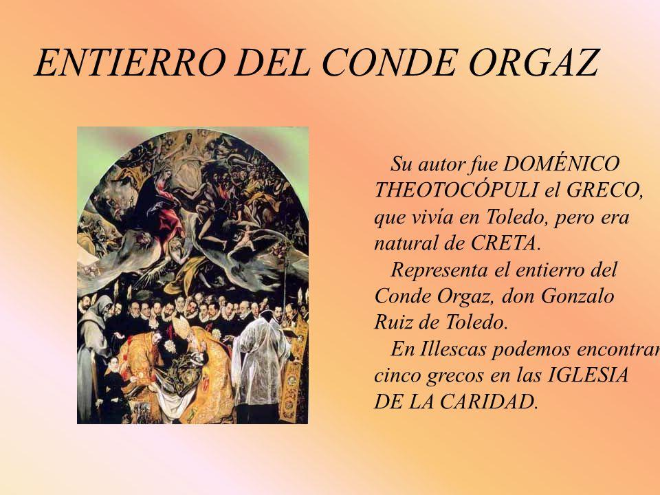 ENTIERRO DEL CONDE ORGAZ