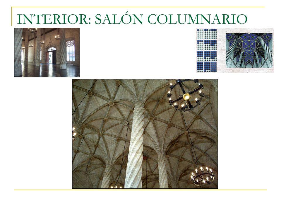 INTERIOR: SALÓN COLUMNARIO