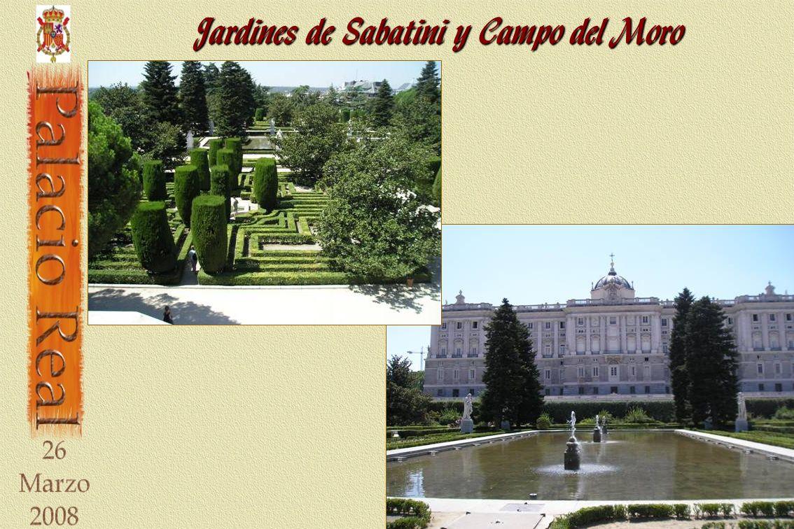 Jardines de Sabatini y Campo del Moro
