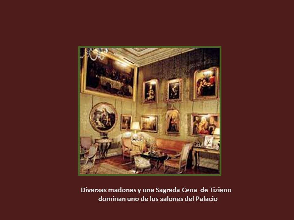 Diversas madonas y una Sagrada Cena de Tiziano