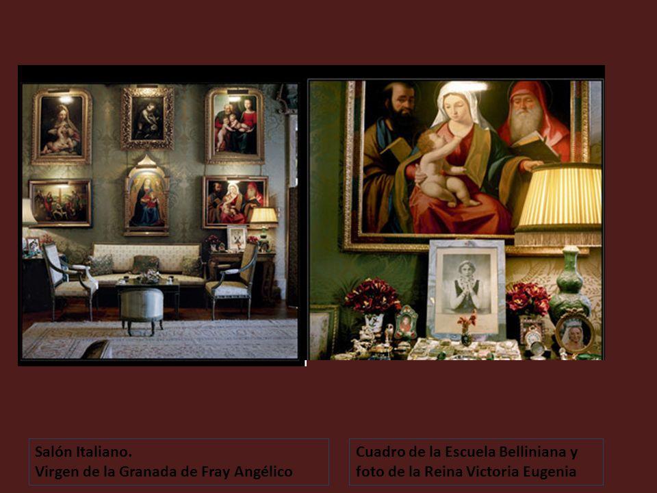 Salón Italiano. Virgen de la Granada de Fray Angélico.