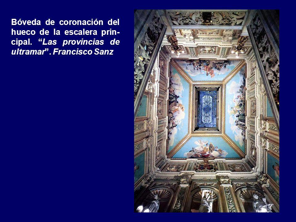 Bóveda de coronación del hueco de la escalera prin-cipal