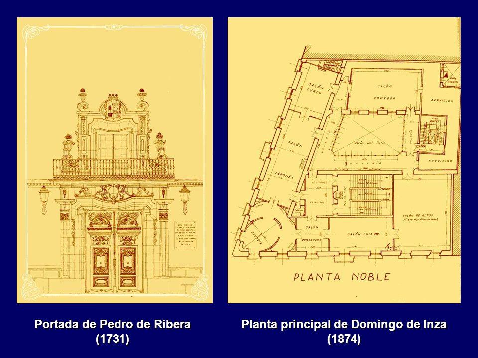 Portada de Pedro de Ribera (1731)