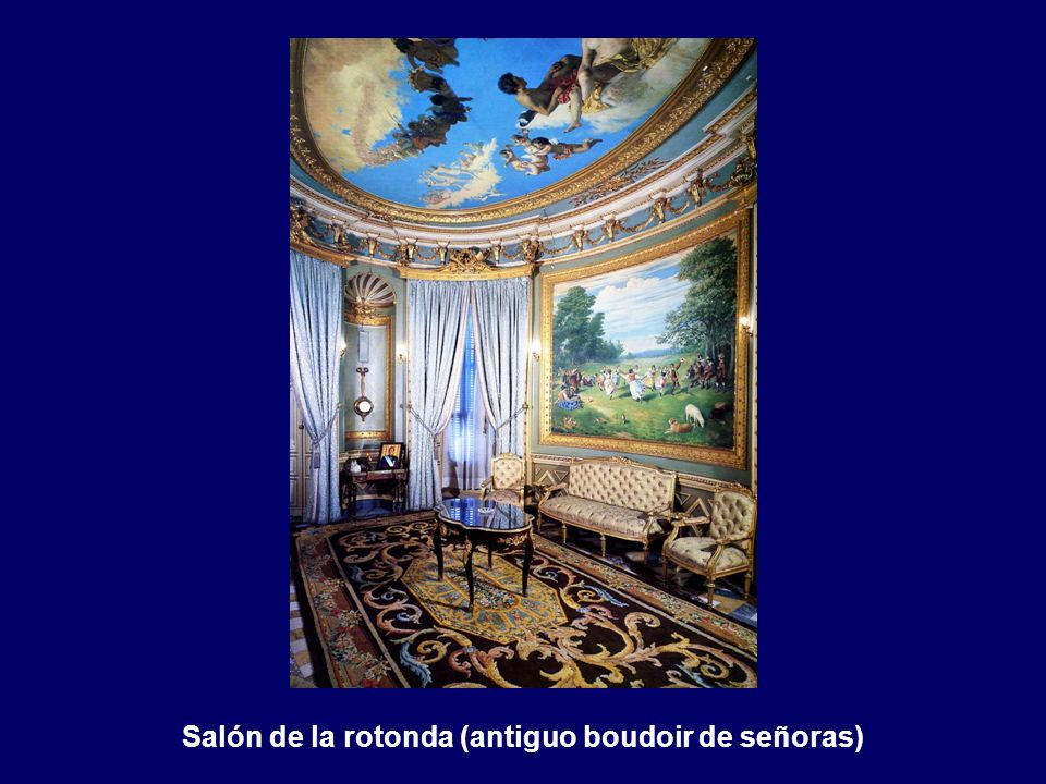 Salón de la rotonda (antiguo boudoir de señoras)