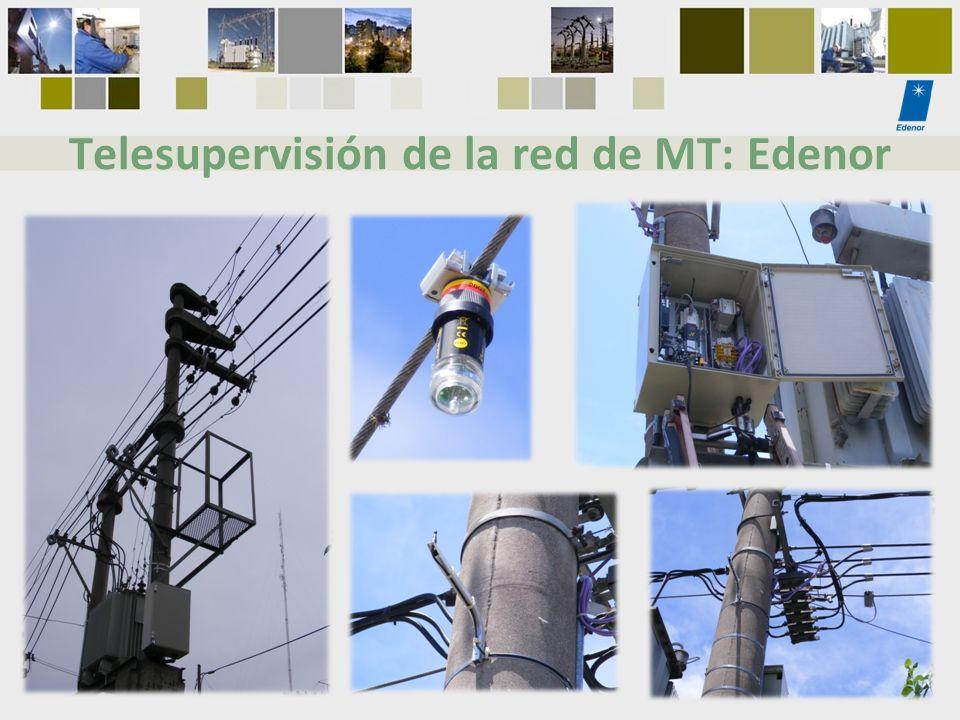 Telesupervisión de la red de MT: Edenor