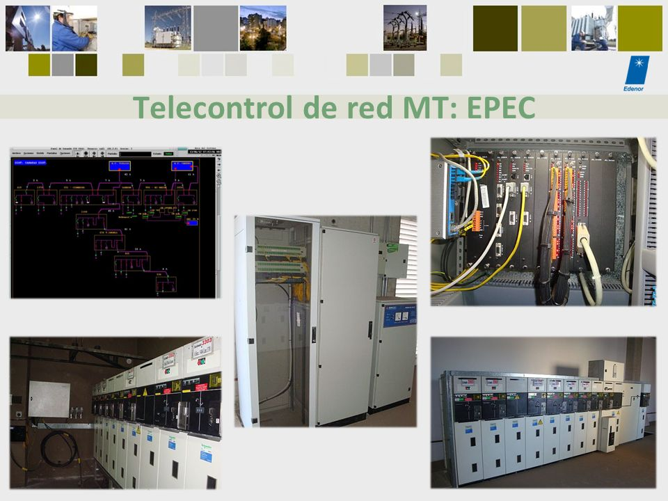 Telecontrol de red MT: EPEC