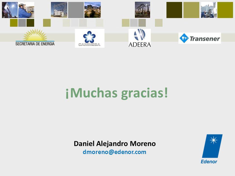 Daniel Alejandro Moreno dmoreno@edenor.com