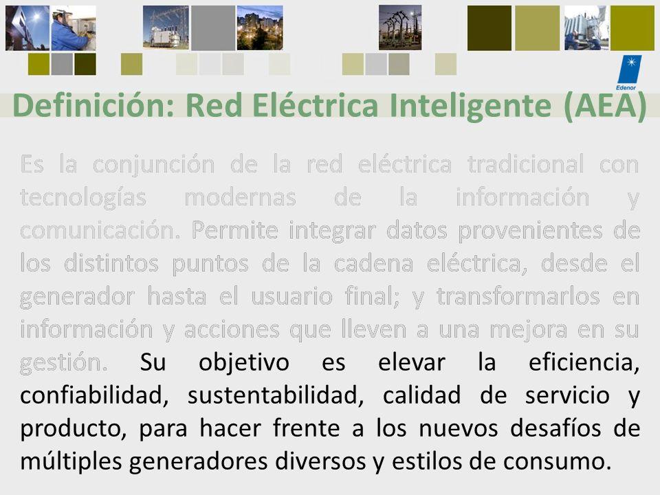 Definición: Red Eléctrica Inteligente (AEA)