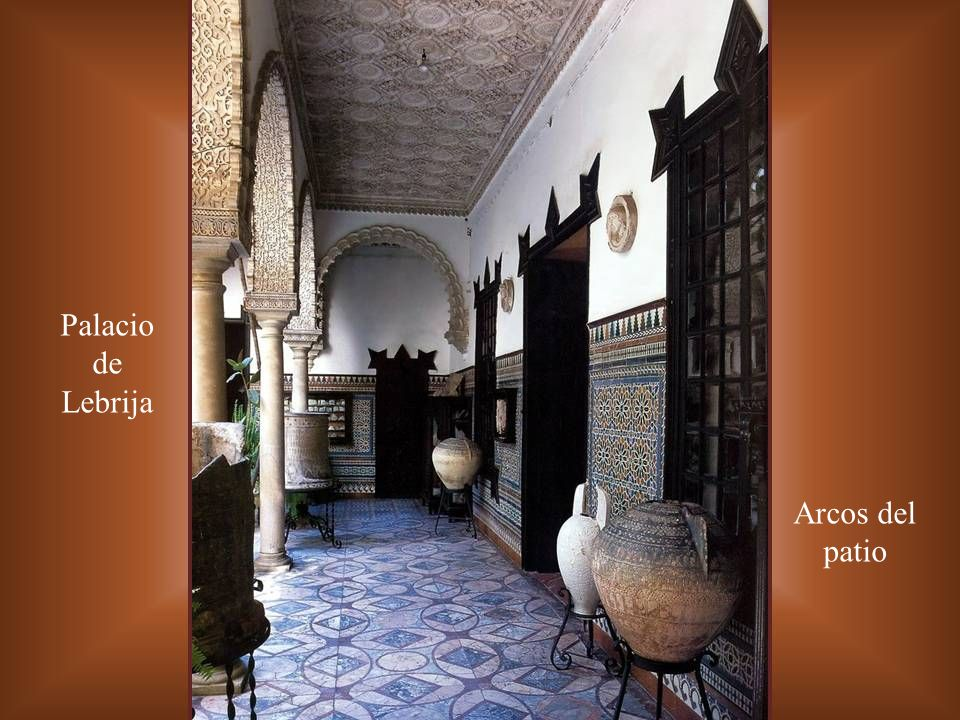 Palacio de Lebrija Arcos del patio