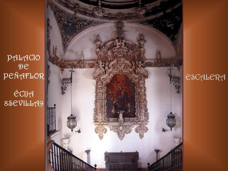 PALACIO DE PEÑAFLOR ÉCIJA 8SEVILLA9 ESCALERA