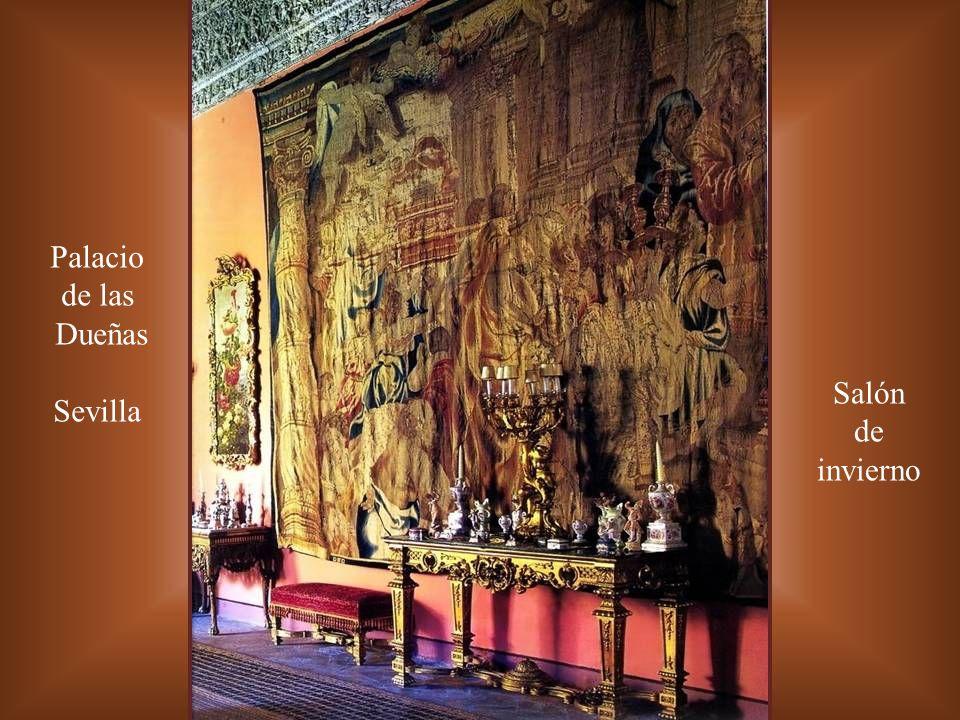 Palacio de las Dueñas Sevilla Salón de invierno
