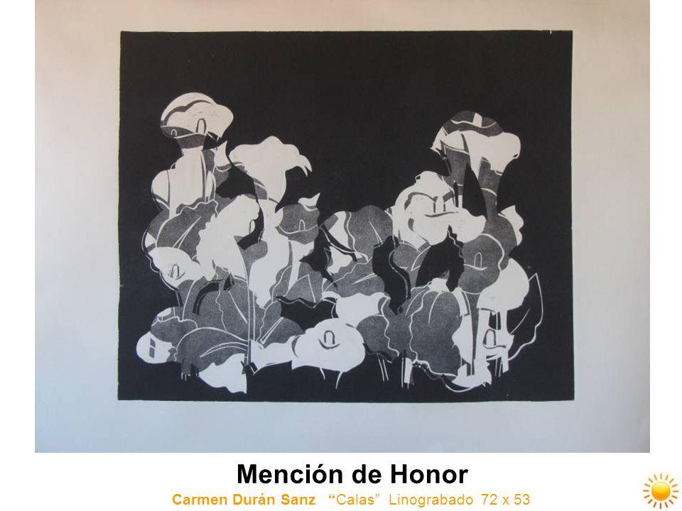 Carmen Durán Sanz Calas Linograbado 72 x 53