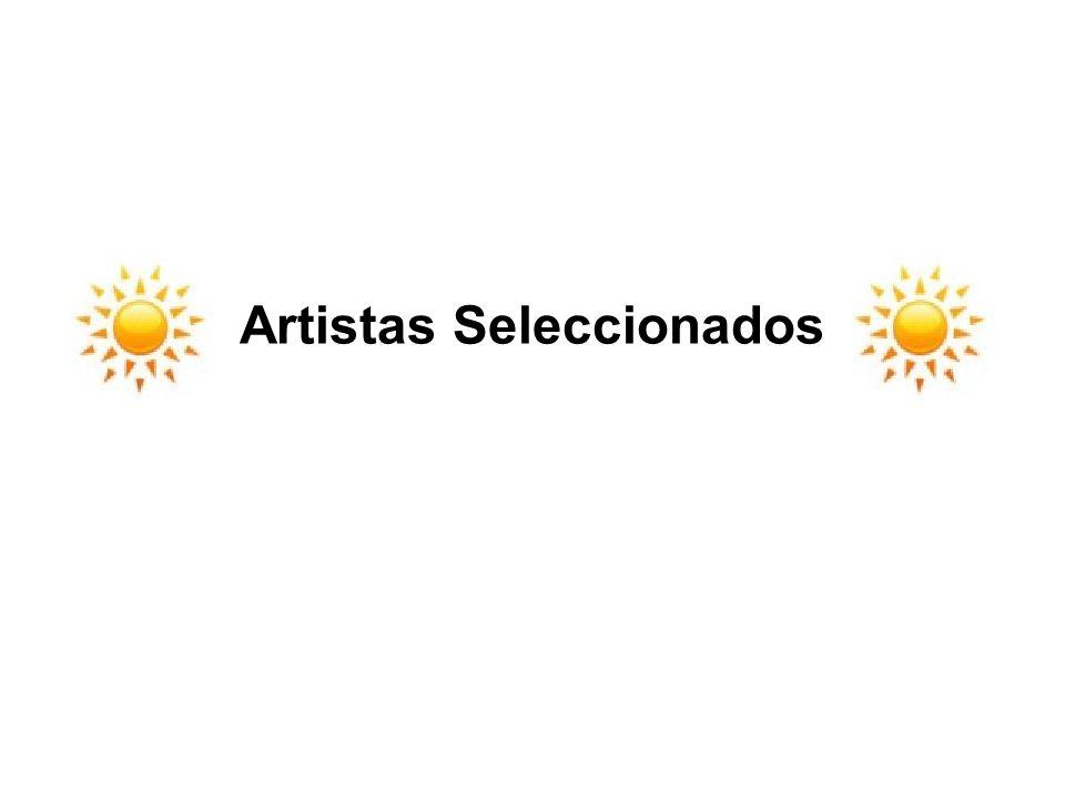 Artistas Seleccionados
