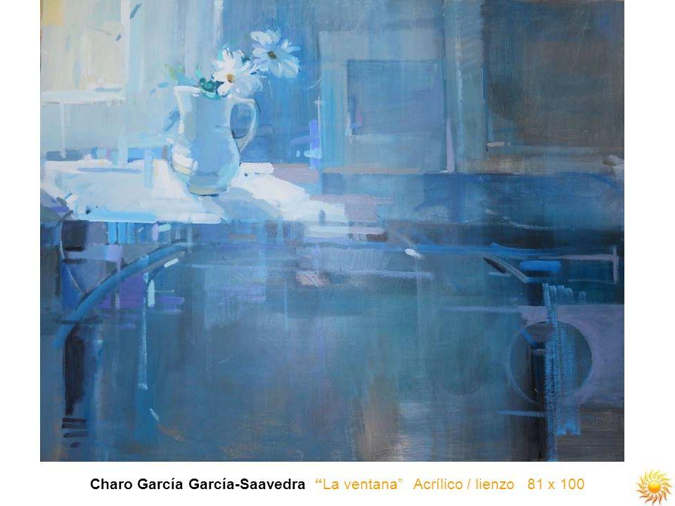 Charo García García-Saavedra La ventana Acrílico / lienzo 81 x 100