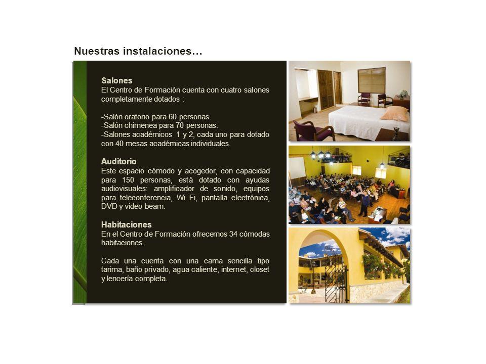 Nuestras instalaciones…