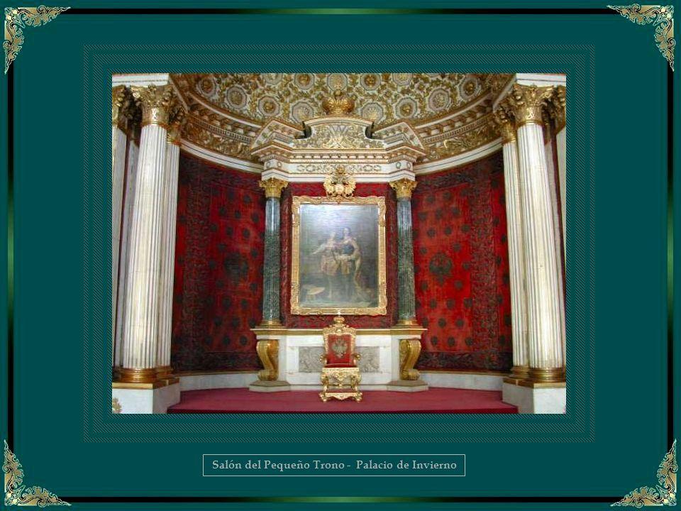Salón del Pequeño Trono - Palacio de Invierno