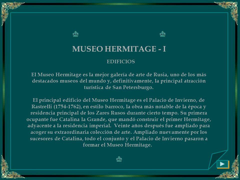 MUSEO HERMITAGE - I EDIFICIOS