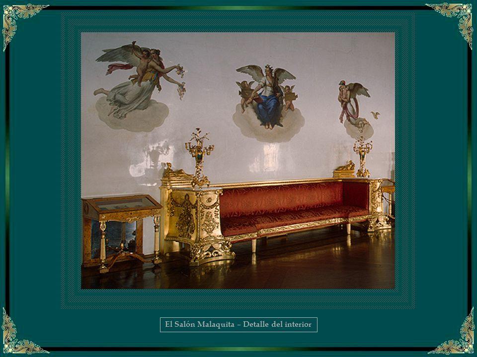 El Salón Malaquita – Detalle del interior