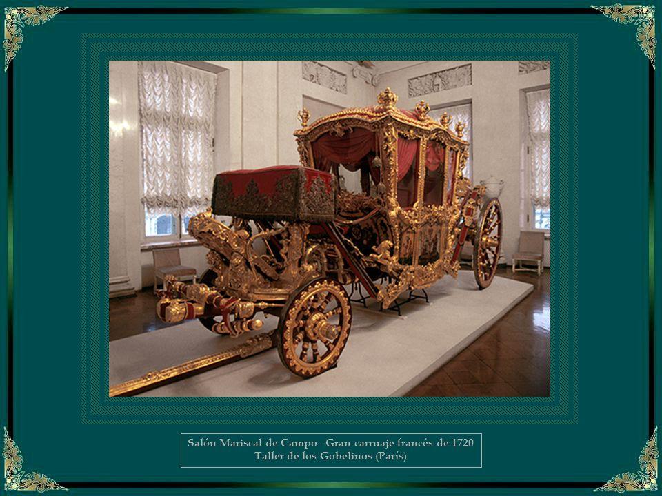 Salón Mariscal de Campo - Gran carruaje francés de 1720