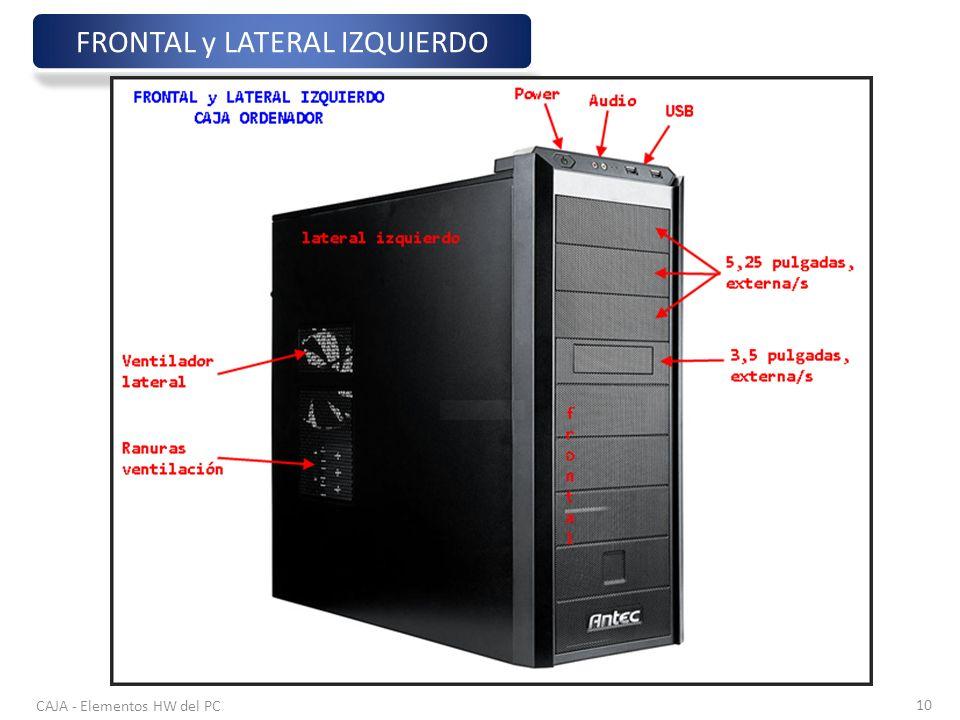 FRONTAL y LATERAL IZQUIERDO