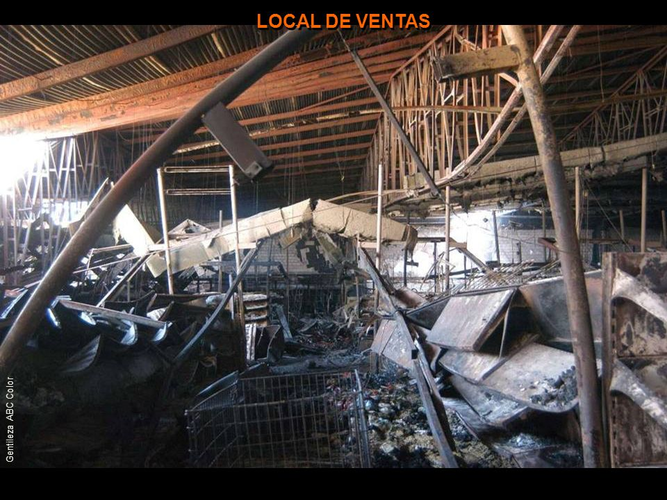 LOCAL DE VENTAS Gentileza ABC Color