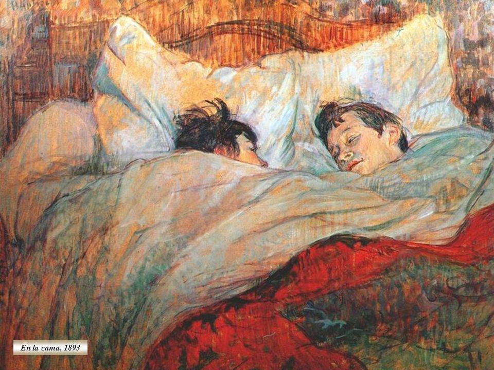 En la cama. 1893