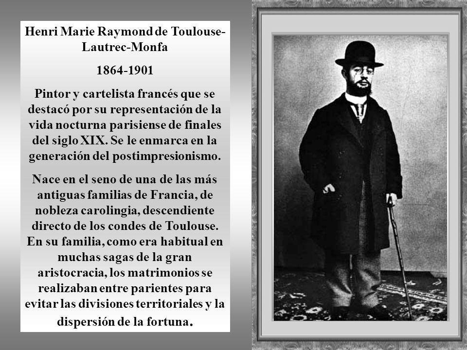 Henri Marie Raymond de Toulouse-Lautrec-Monfa
