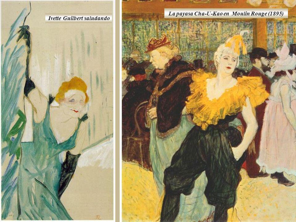 La payasa Cha-U-Kao en Moulin Rouge (1895)