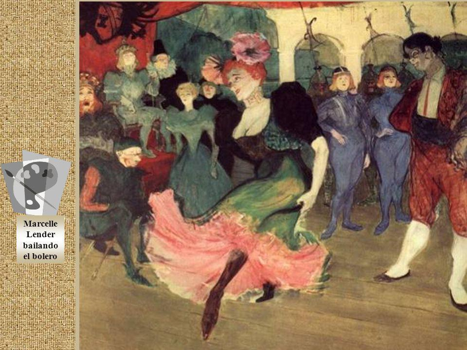 Marcelle Lender bailando el bolero