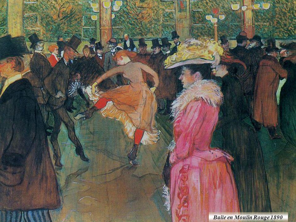 Baile en Moulin Rouge 1890
